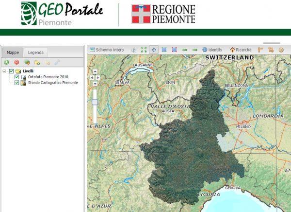 geoportale Piemonte