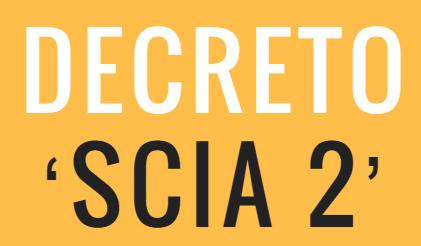 D. Lgs 25 Novembre 2016, N. 222 – Decreto 'Scia 2' – Tabella A Edilizia