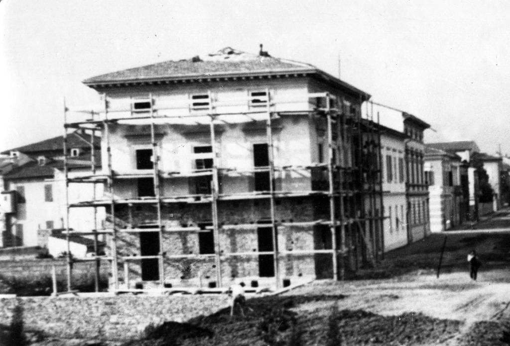 1940/41: Blocco dell'edilizia privata e industriale per Guerra