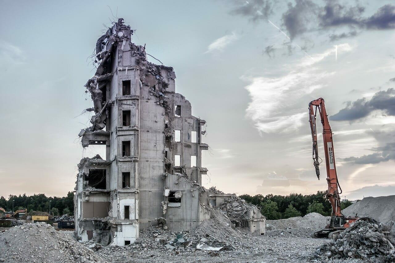 demolizione senza ricostruzione non soggetta a permesso di costruire