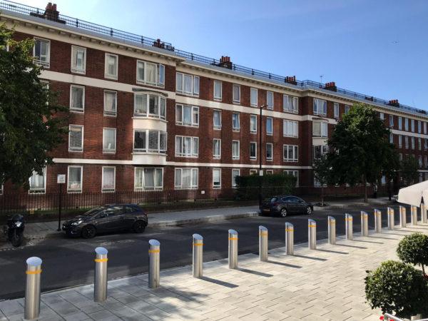 abitazioni in linea a Londra