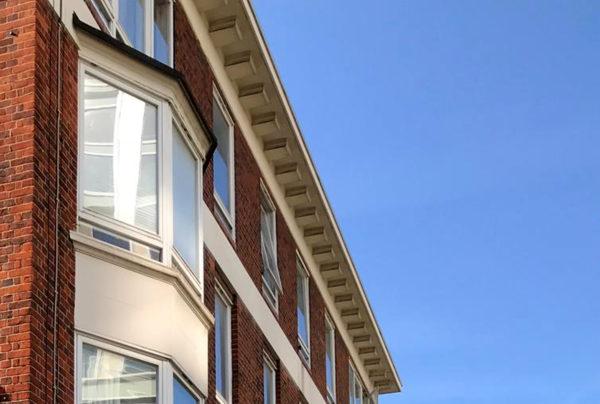 facciata abitazione in linea